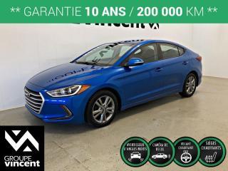 Used 2017 Hyundai Elantra GL ** GARANTIE 10 ANS ** Économique et pratique! for sale in Shawinigan, QC