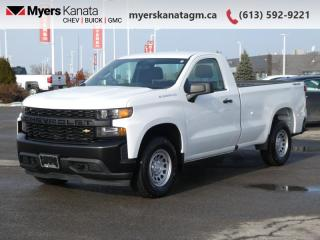 Used 2020 Chevrolet Silverado 1500 Work Truck  -  Apple CarPlay for sale in Kanata, ON