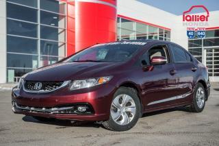 Used 2015 Honda Civic GARANTIE LALLIER 10ANS/200,000 KILOMETRES INCLUSE* PLUS DE 75 CIVIC USAGEES PRETES POUR LIVRAISON RAPIDE for sale in Terrebonne, QC