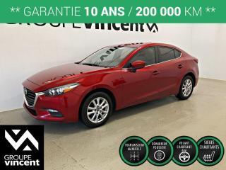 Used 2018 Mazda MAZDA3 GS ** GARANTIE 10 ANS ** Élégante et économique! for sale in Shawinigan, QC