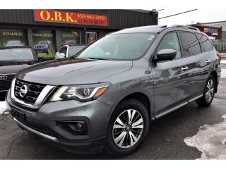 Used 2017 Nissan Pathfinder SL-TECK PKG-TOIT PANO-NAVI-CAM 360-AWD-7 PASSAGERS for sale in Laval, QC