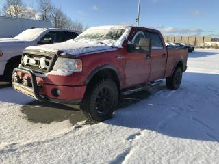 Used 2008 Ford F-150 4 RM, Super CREW  139 po,  FX 4 for sale in Sherbrooke, QC