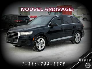 Used 2017 Audi Q7 3.0T TECHNIK + DVD + S-LINE! for sale in Magog, QC