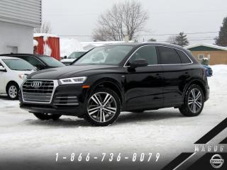 Used 2018 Audi Q5 TECHNIK + S-LINE + B&O + NAVI! for sale in Magog, QC