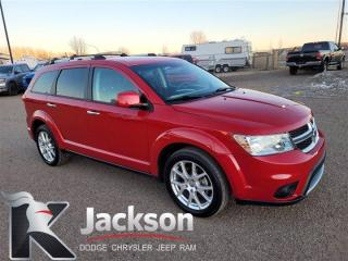 Used 2016 Dodge Journey R/T - Rear DVD, 3 row seating for sale in Medicine Hat, AB