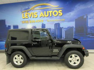 Used 2014 Jeep Wrangler SPORT MANUEL 6 VITESSES 4X4 V6 JAMAIS AC for sale in Lévis, QC