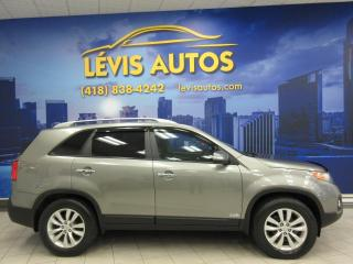 Used 2011 Kia Sorento EX V6 AWD 129500KM CUIR/TOIT PANO/ MAGS for sale in Lévis, QC