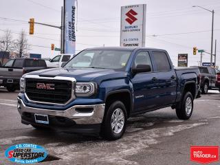 Used 2018 GMC Sierra 1500 Crew Cab 4x4 ~5.3L V8 ~Backup Camera ~Trailer Tow for sale in Barrie, ON