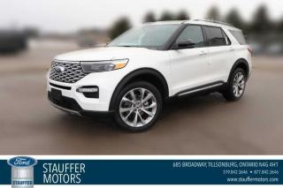 New 2021 Ford Explorer Platinum for sale in Tillsonburg, ON
