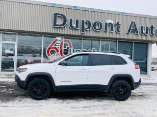 Used 2019 Jeep Cherokee TRAILHAWK ELITE 4X4 for sale in Alma, QC