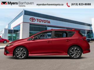 Used 2017 Toyota Corolla iM Man  - Heated Seats -  Bluetooth - $101 B/W for sale in Ottawa, ON