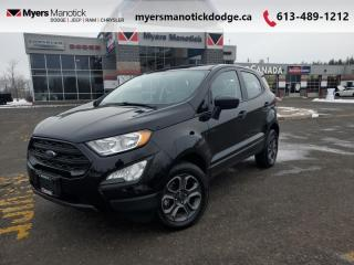 Used 2019 Ford EcoSport S  - Fuel Efficient -  High Value - $142 B/W for sale in Ottawa, ON