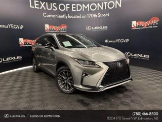 Used 2019 Lexus RX 450h F SPORT SERIES 3 for sale in Edmonton, AB