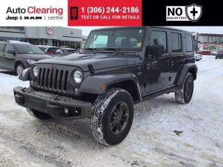 Used 2016 Jeep Wrangler Unlimited 75th Anniversary for sale in Saskatoon, SK