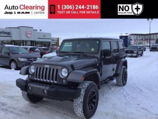 Used 2018 Jeep Wrangler JK Unlimited Sahara for sale in Saskatoon, SK