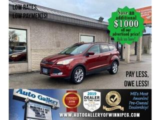 Used 2014 Ford Escape SE* AWD/B.cam/B.tooth/Satellite radio for sale in Winnipeg, MB