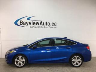 Used 2016 Chevrolet Cruze Premier Auto - AUTO! A/C! LEATHER! PWR GROUP! for sale in Belleville, ON