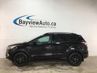 Used 2018 Ford Escape SE - 4WD! ECOBOOST! 1/2 LEATHER! ONLY 26,000KMS! for sale in Belleville, ON