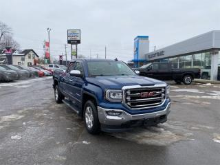 Used 2018 GMC Sierra 1500 SLT  - Leather Seats -  Heated Seats for sale in Kemptville, ON
