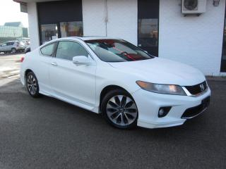 Used 2013 Honda Accord EX-L $10,995+HST+LIC FEE / CLEAN CARFAX / CERTIFIED / NAVIGATION for sale in North York, ON