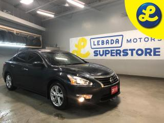 Used 2015 Nissan Altima SL * Navigation * Sunroof * Back Up Camera * Lane Departure Warning * Power Driver Seat * Push Button Start *  Cruise Control * Steering Wheel Control for sale in Cambridge, ON