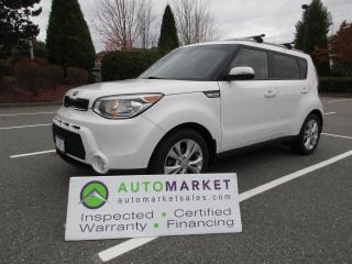 Used 2014 Kia Soul PLUS, LOCAL, INSPECTED, FINANCING, FREE WARRANTY AND BCAA MEMBERSHIP for sale in Surrey, BC
