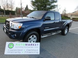 Used 2006 Toyota Tacoma 4X4, AUTO, TRD, SR5, INSPECTD, WARRANTY & BCAA MEMBERSHIP, FINANCING! for sale in Surrey, BC