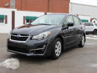 Used 2015 Subaru Impreza 5DR HB MAN 2.0I for sale in Hagersville, ON