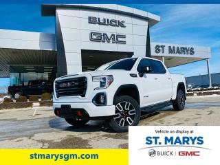 New 2021 GMC Sierra 1500 AT4 4WD for sale in St. Marys, ON