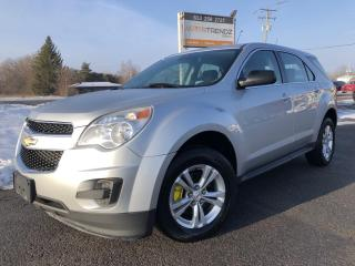 Used 2012 Chevrolet Equinox LS AutoStart, Bluetooth, Alloy Wheels, Pwr Windows, Cruise, Air and Keyless Entry! for sale in Kemptville, ON