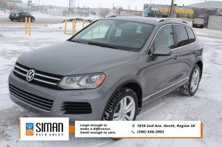 Used 2014 Volkswagen Touareg 3.6L Comfortline LEATHER SUNROOF AWD for sale in Regina, SK