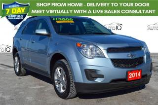 Used 2014 Chevrolet Equinox 1LT LOW LOW KMS for sale in Grimsby, ON