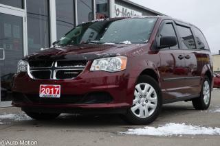 Used 2017 Dodge Grand Caravan CVP/SXT for sale in Chatham, ON
