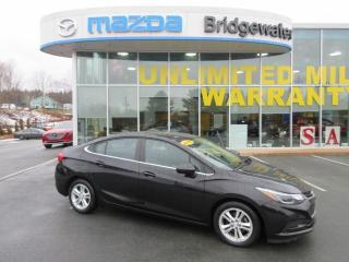 Used 2016 Chevrolet Cruze LT Manual for sale in Hebbville, NS