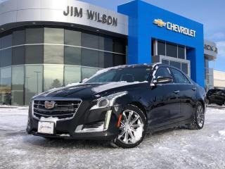 Used 2016 Cadillac CTS 3.6L Luxury Collection Luxury Collection AWD for sale in Orillia, ON