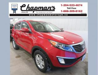 Used 2013 Kia Sportage LX All Wheel Drive, Satellite Radio, Traction Control for sale in Killarney, MB