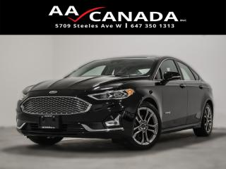 Used 2019 Ford Fusion Hybrid Titanium|CLEAN CARFAX|NAVI|LEATHER|SUNROOF|BACK UP for sale in North York, ON