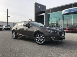 Used 2016 Mazda MAZDA3 GT Hatchback | Automatic for sale in Chatham, ON