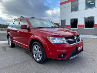 Used 2012 Dodge Journey R/T AWD with Sunroof for sale in Tillsonburg, ON