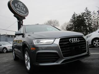 Used 2018 Audi Q3 2.0 TFSI quattro Komfort Tiptronic for sale in Burlington, ON