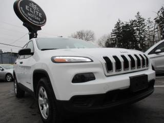 Used 2015 Jeep Cherokee 4WD 4Dr Sport for sale in Burlington, ON