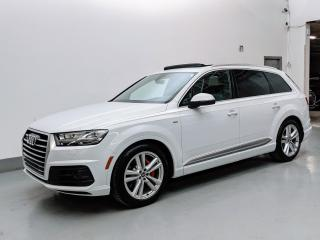 Used 2017 Audi Q7 TECHNIK/B&O SOUND/AIR SUSPENSION/MASSAGE SEATS/HUD! for sale in Toronto, ON