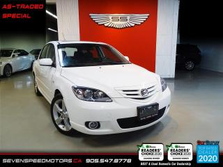 Used 2005 Mazda MAZDA3 EXTRA LOW KMS | LEATHER | AS TRADED SPECIAL for sale in Oakville, ON