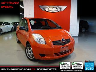 Used 2007 Toyota Yaris AUTO | AS TRADED SPECIAL for sale in Oakville, ON