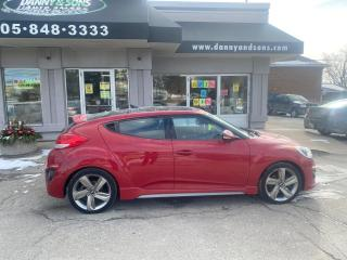 Used 2013 Hyundai Veloster Turbo for sale in Mississauga, ON