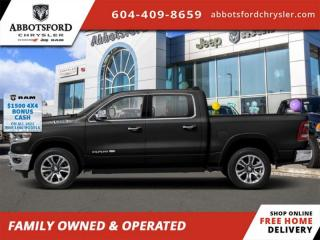 New 2021 RAM 1500 Longhorn  - Sunroof - $519 B/W for sale in Abbotsford, BC