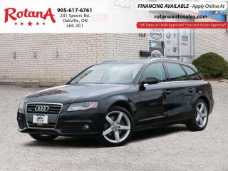 Used 2011 Audi A4 2.0T PREMIUM_Panoramic Roof_Bluetooth for sale in Oakville, ON