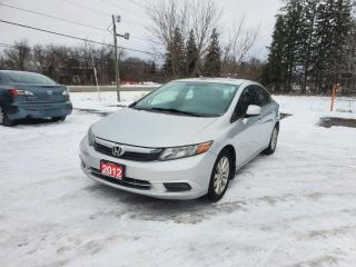Used 2012 Honda Civic EX POWER SUNROOF CERTIFIED for sale in Stouffville, ON