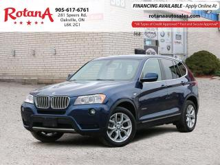 Used 2012 BMW X3 28i_Leather_Panoramic Roof_Bluetooth for sale in Oakville, ON