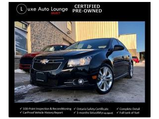 Used 2011 Chevrolet Cruze LT Turbo, SUNROOF, BLUETOOTH, ALLOY WHEELS!! for sale in Orleans, ON